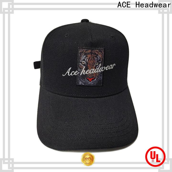 ACE funky baseball cap for wholesale for baseball fans