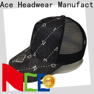 ACE mesh trucker cap get quote for fashion