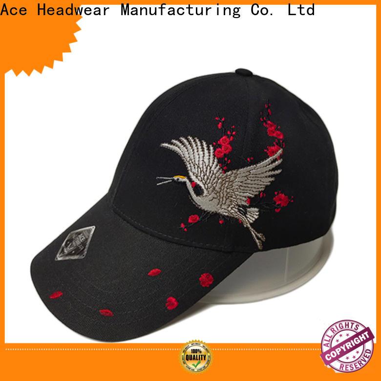 ACE latest green baseball cap customization for baseball fans
