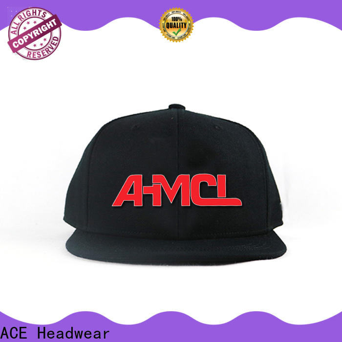 ACE high-quality personalised snapback caps supplier for beauty