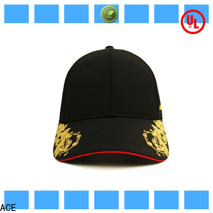 ACE funky cool baseball caps for wholesale for beauty