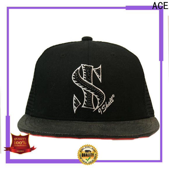 ACE curved mens trucker caps free sample for Trucker
