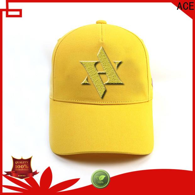 ACE baseball black baseball cap mens customization for baseball fans