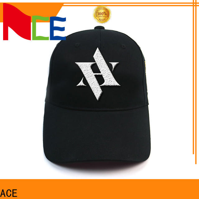 ACE blue cool snapback hats OEM for fashion