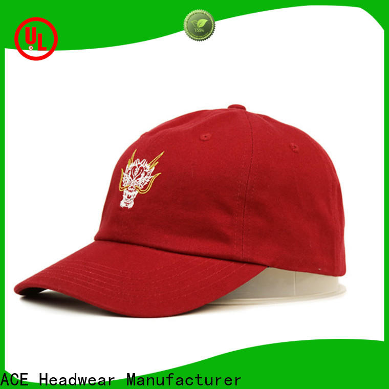 high-quality white baseball cap fashion OEM for fashion
