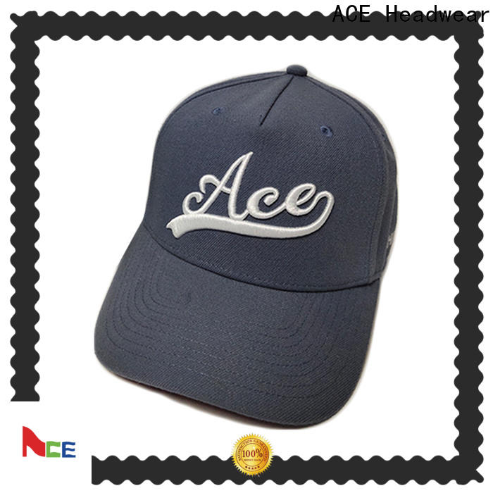 ACE high-quality baseball cap get quote for fashion