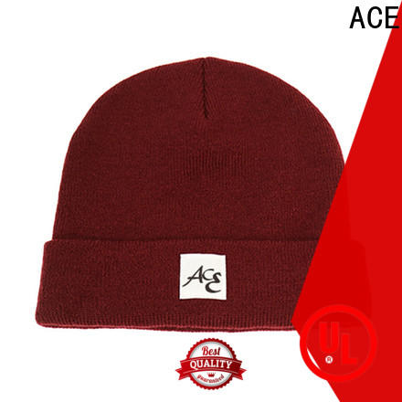 ACE adults knit beanie hats get quote for beauty