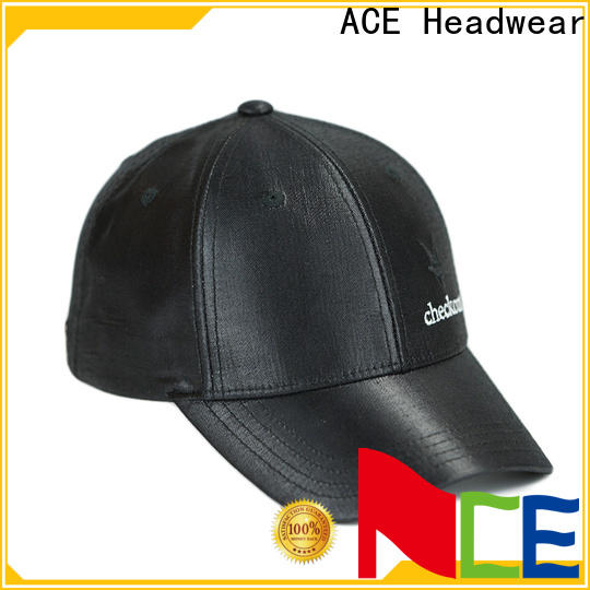 ACE durable embroidered baseball cap get quote for baseball fans