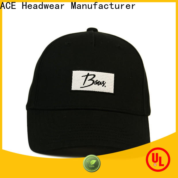 Breathable fitted baseball caps women OEM for fashion