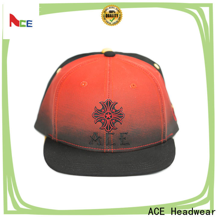 ACE at discount blank snapback hats supplier for fashion