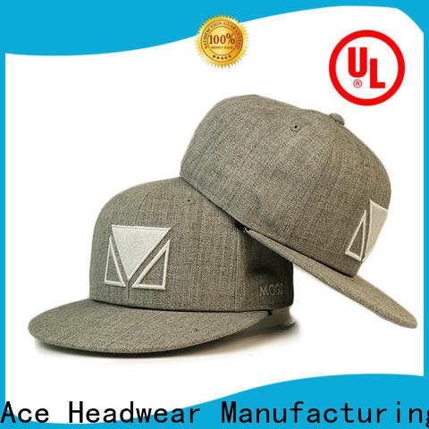 ACE sublimation mesh snapback hats ODM for beauty