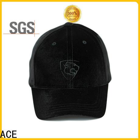 ACE funky blank baseball caps free sample for baseball fans