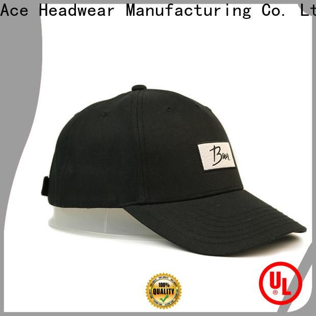 ACE portable types of baseball caps bulk production for fashion