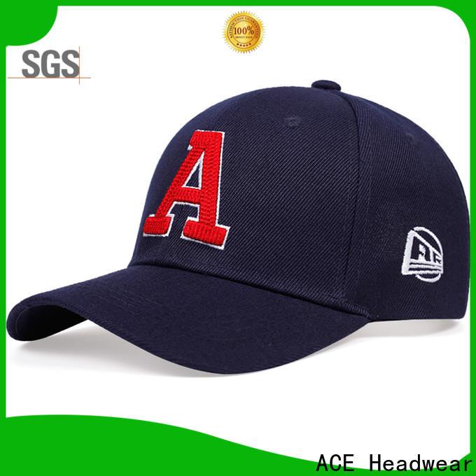 ACE stylish baseball caps for men customization for fashion