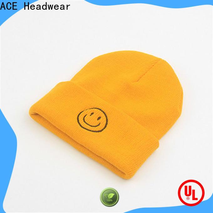on-sale knit beanie cap basic customization for fashion