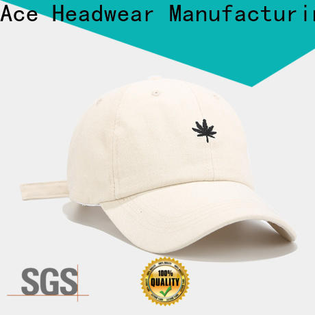 ACE on-sale yellow baseball cap customization for baseball fans