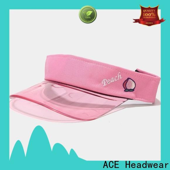ACE at discount womens sun visor hats free sample for beauty