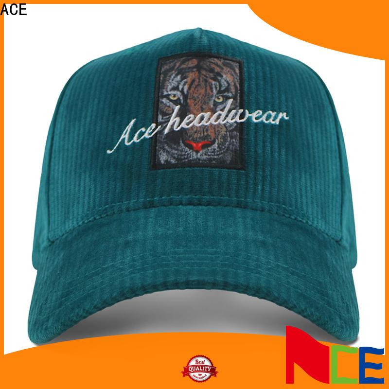 ACE rhinestone best mens baseball caps supplier for fashion