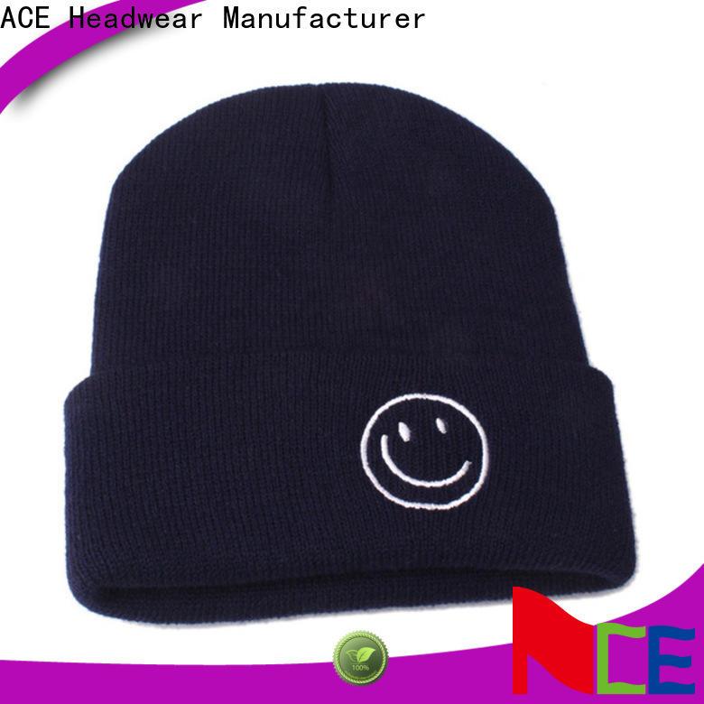 latest black knit beanie purple supplier for fashion