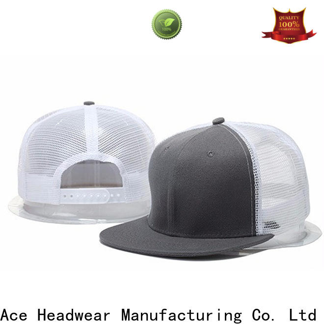 ACE panel blank trucker caps customization for Trucker