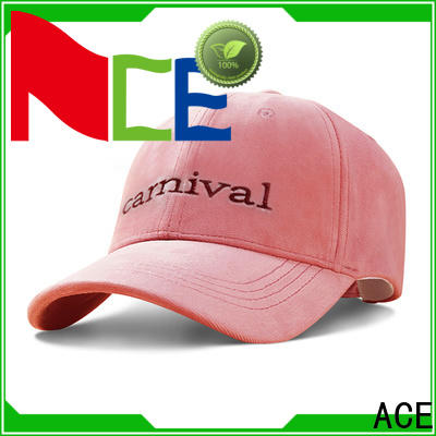ACE rabbit leather baseball cap free sample for beauty