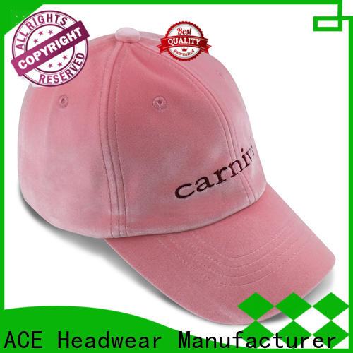 ACE genuine wholesale baseball caps free sample for fashion