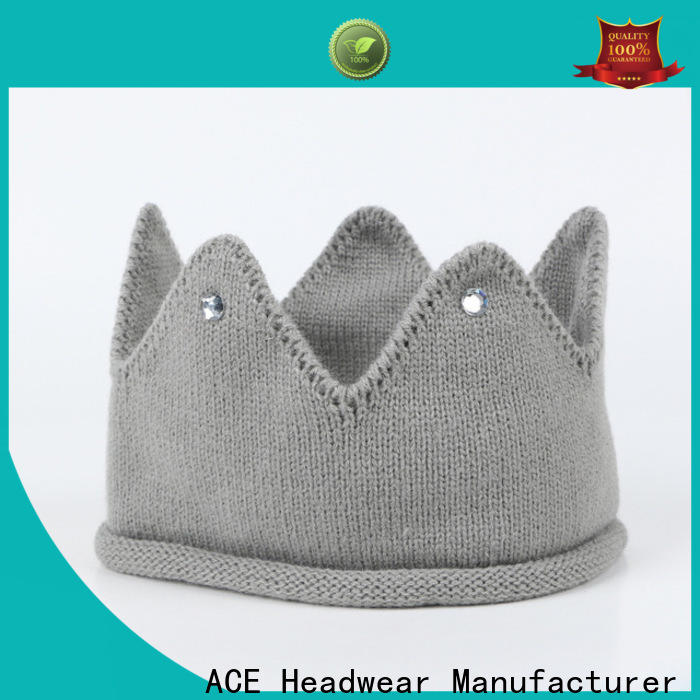 ACE solid mesh knit beanie hats get quote for beauty