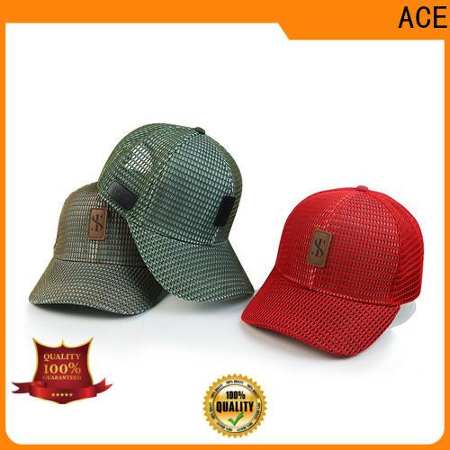 ACE durable cycling cap bulk production for fashion