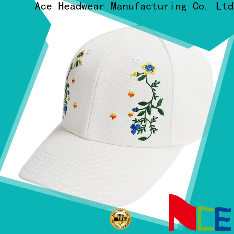 ACE latest kids baseball caps ODM for fashion