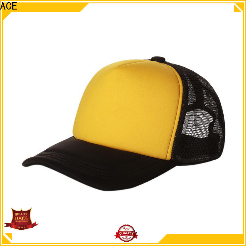 ACE portable black trucker cap get quote for beauty