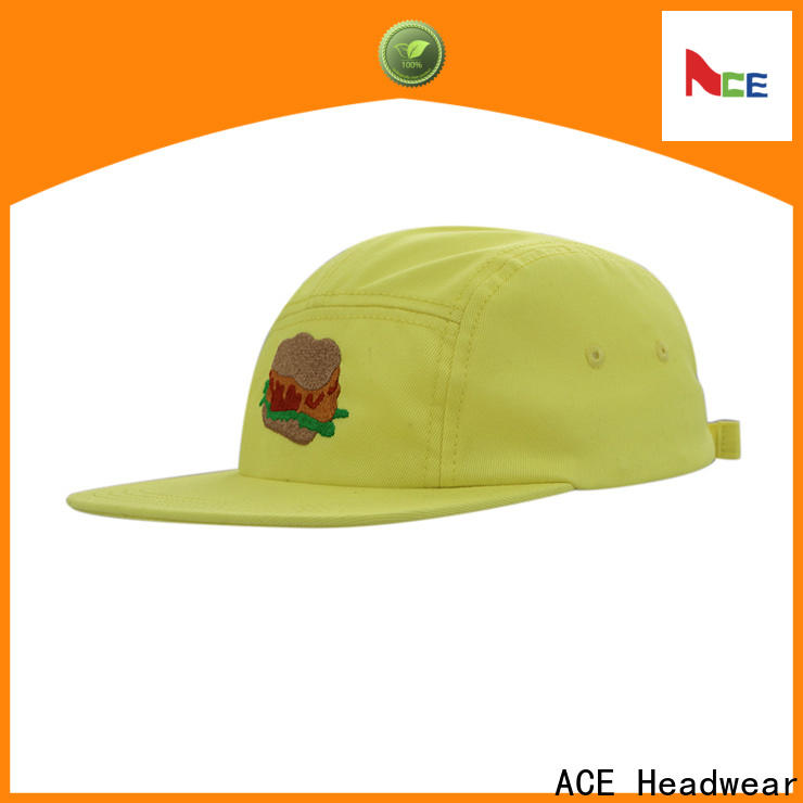 ACE latest white snapback cap supplier for beauty