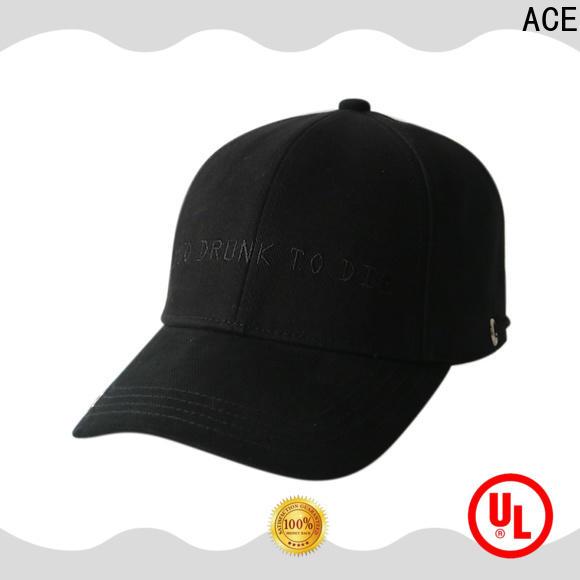 ACE solid mesh baseball caps for men bulk production for beauty