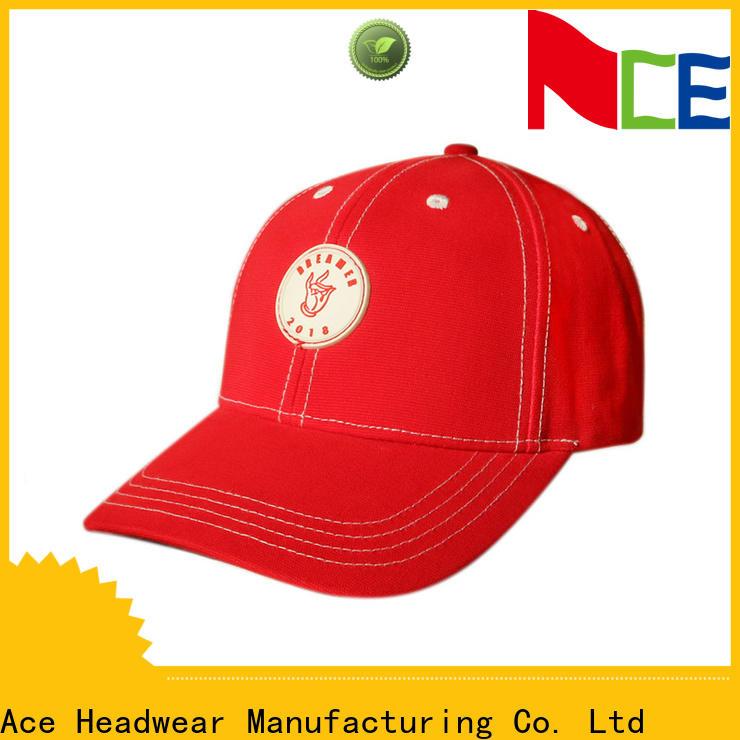 ACE at discount logo baseball cap OEM for baseball fans