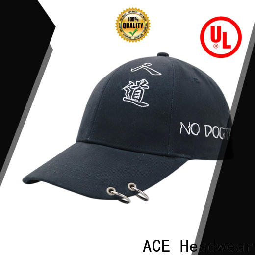 ACE high-quality white baseball cap customization for beauty