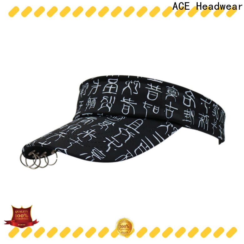 funky white sun visor hat visor free sample for fashion