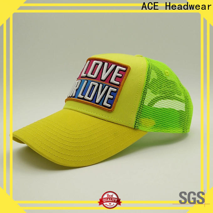 durable classic trucker cap words supplier for beauty