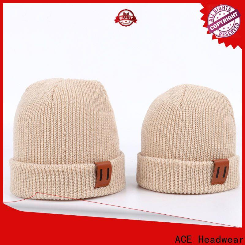 ACE Breathable wholesale beanies for wholesale for fashion