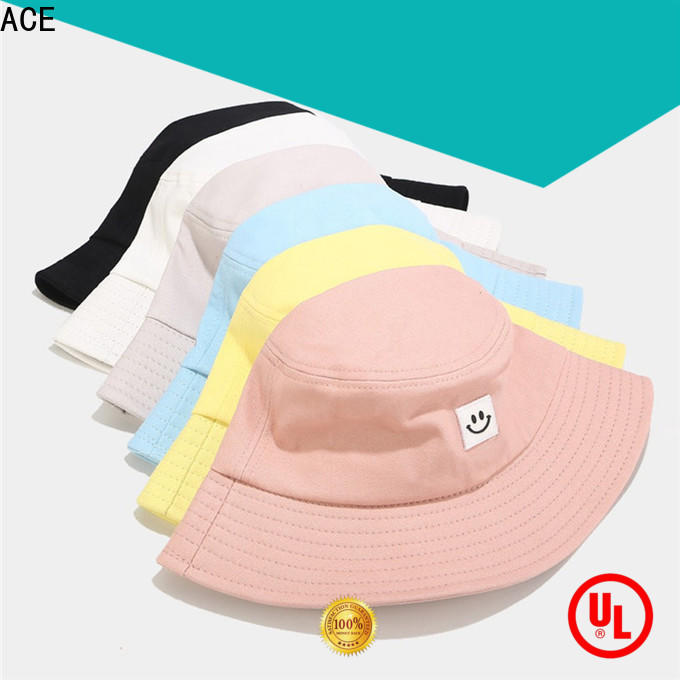 ACE durable bucket hat womens bulk production for fashion