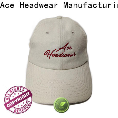 funky baseball cap with embroidery gold for wholesale for baseball fans