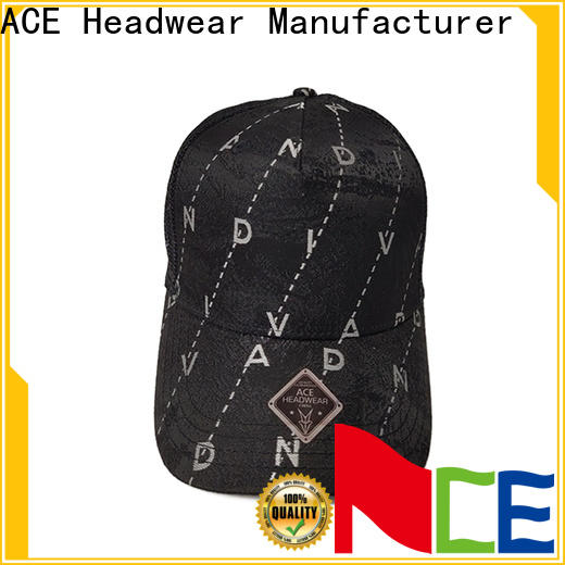 ACE words bike cap customization for beauty
