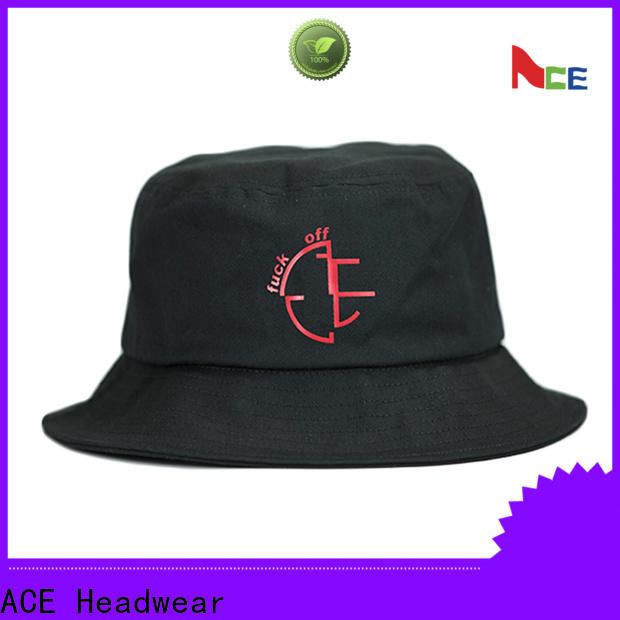 portable bucket hat fashion cotton free sample for beauty