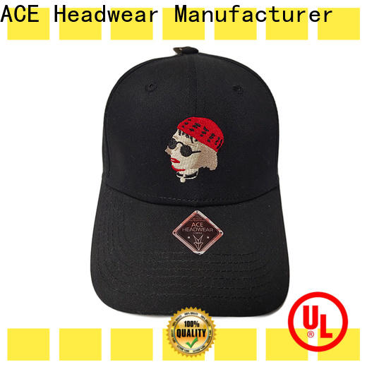 ACE funky custom baseball caps get quote for beauty
