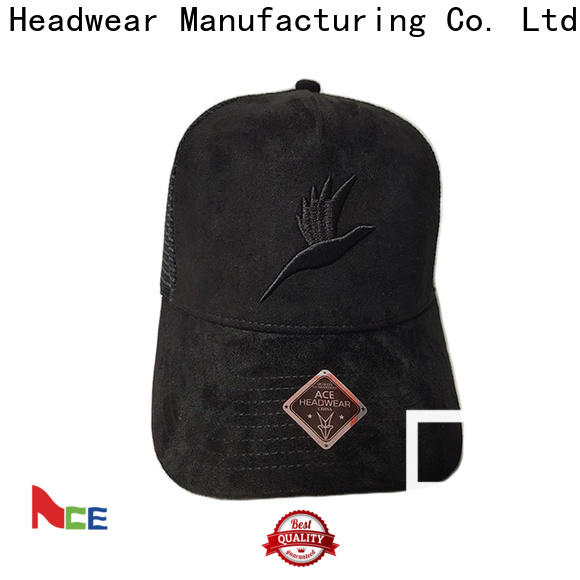 ACE portable wholesale trucker hats free sample for fashion