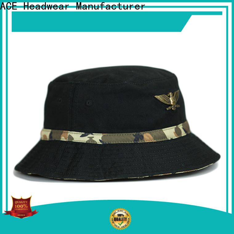 durable blue bucket hat stock customization for fashion
