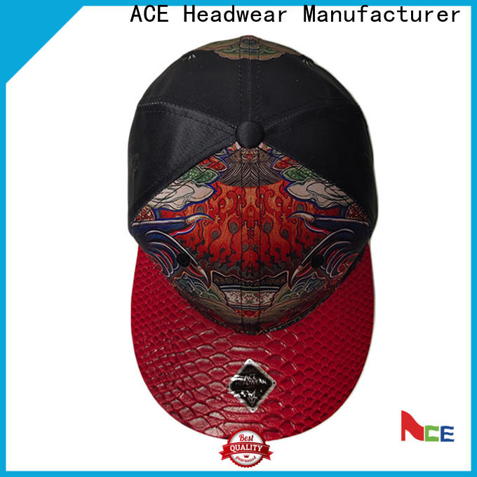 ACE durable best snapback hats OEM for beauty