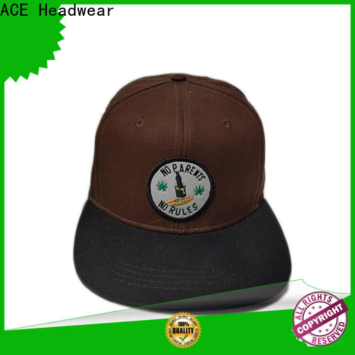 latest popular snapback caps embroidery get quote for fashion
