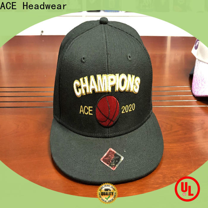 ACE purple grey snapback hat get quote for fashion