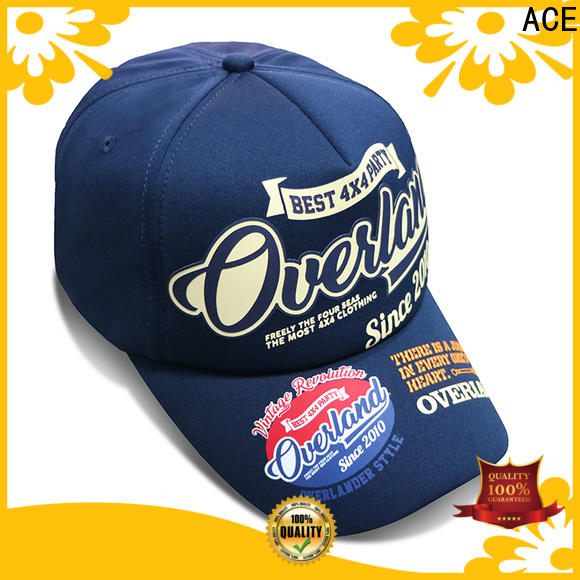 ACE latest black baseball cap get quote for baseball fans