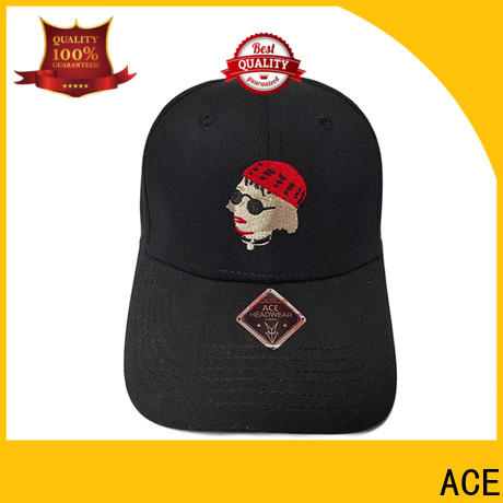 ACE at discount leather baseball cap free sample for beauty