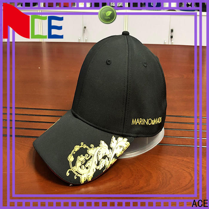 ACE latest sports baseball cap free sample for beauty